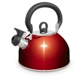 WHISTLING KETTLE 2.5L - RED