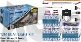 12 MTR KIT - 60 WHITE LIGHTS