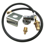 BBQ GAS HOSE WITH BAYONET KIT
