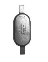 ANODE OVAL W/STRAP