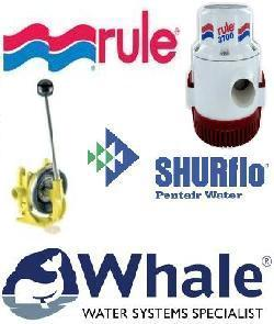 Show all products from RULE, SHURFLO & WHALE