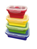 COLLAPSIBLE CONTAINERS - 4PC