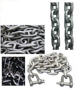 Show all products from CHAIN - ANCHOR